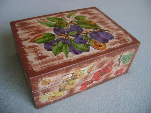 čajová krabice