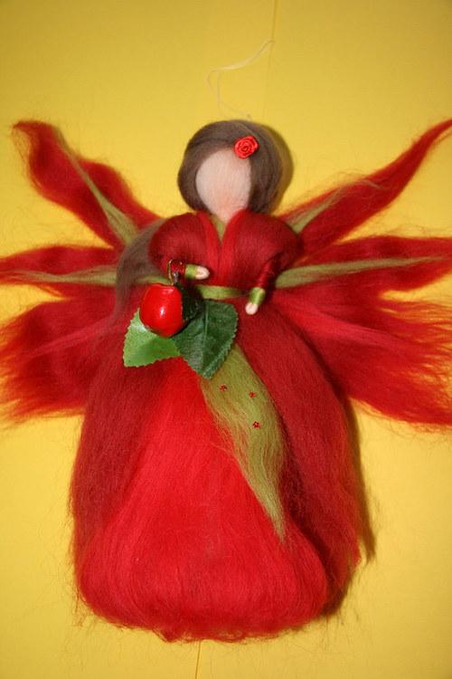 Jablíčková víla - cca 25 cm