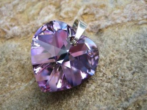Srdce 18 mm Crystal LV
