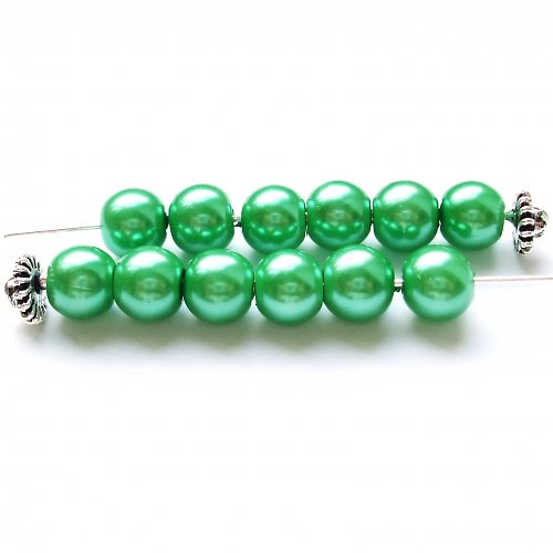 Perličky zelené 7 ks