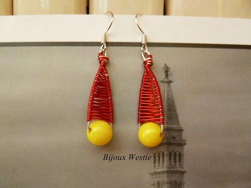 Červeno žluté