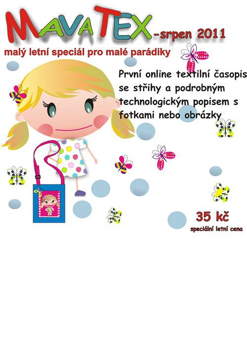 časopis mavatex ( letní speciál pro malé parádilky