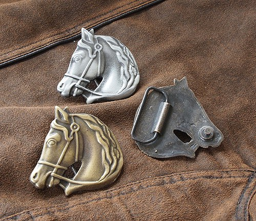 Buckle - Koňská hlava