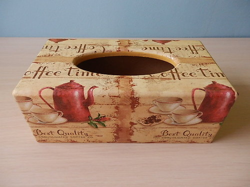 Krabička na kapesníky Coffee Time