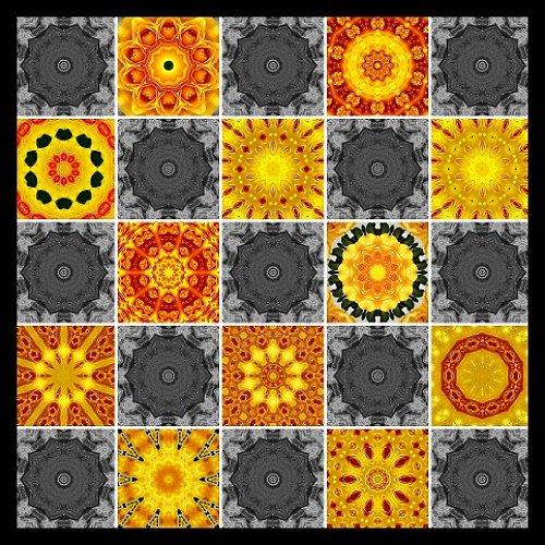 Plakát: Šedá se žlutou nebo žlutá se šedou?