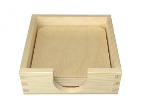 Krabička s podl. pod sklenice nebo hrnky DL49