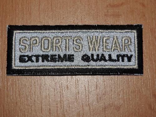 Nažehlovačka reflexní Sports wear
