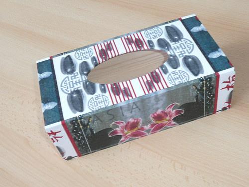 Krabička na kapesníky - asie