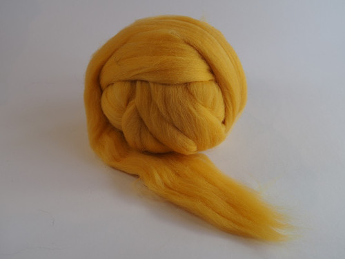 Španělská ovčí vlna - jasná žlutá 20 g