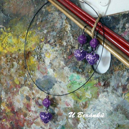 Zašmodrchaná... ve fialové