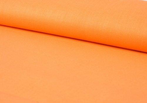 Látka jednobarevná ORANŽOVÁ ATEST DĚTI á 0,5m