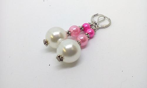 Růžové perličky-VÝPRODEJ -SLEVA