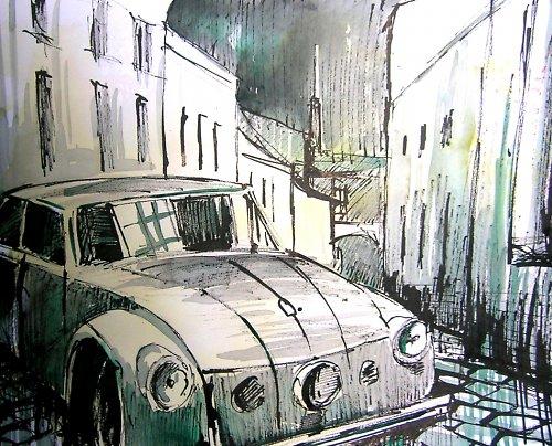 Akvarel, Tatra 77, Stará česká klasika 8)