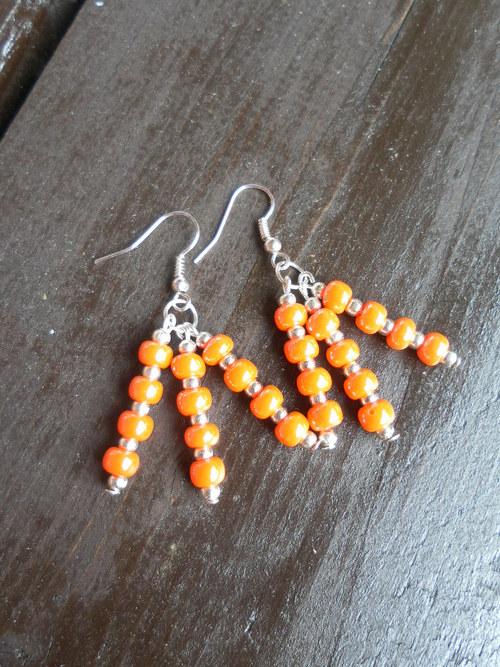 Oranžové žížalky
