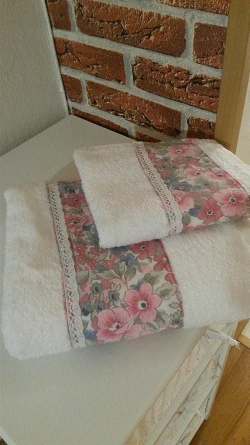 Romantická ručníková sada