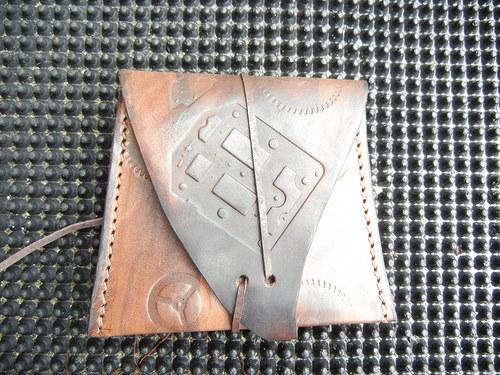 steampunková peněženka
