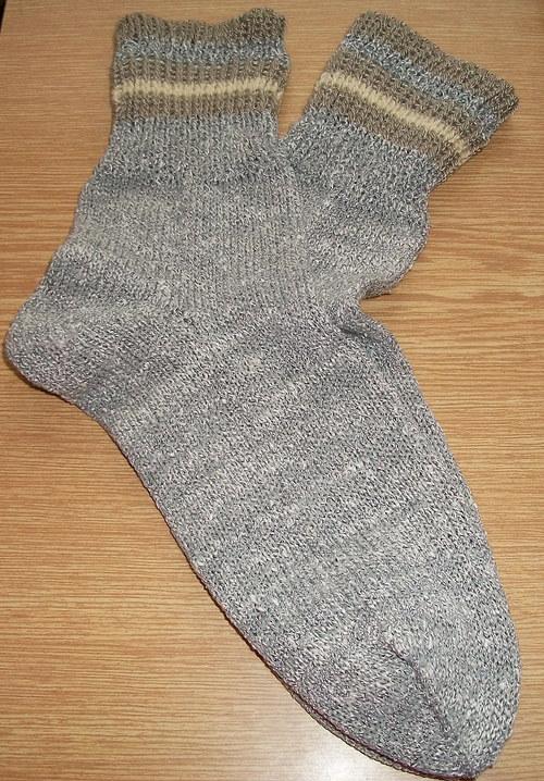 Ponožky šedé vel. 38/39