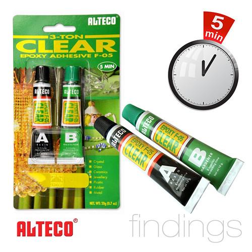 Dvousložkové lepidlo Alteco 3-TON / 20 g