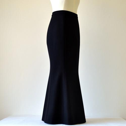 Zimní vlněná sukně