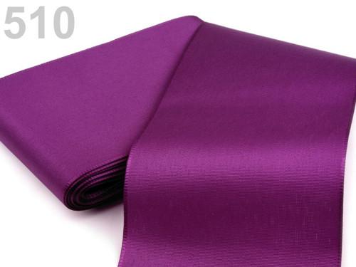 Taftová stuha 108mm (10m) - fialová purpura