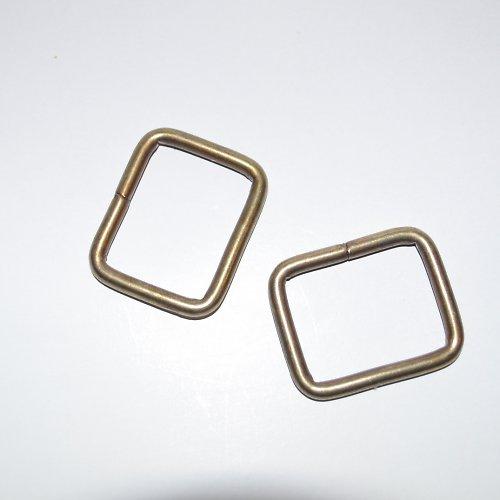 Galanterní vsuvka  20 mm - staromosaz