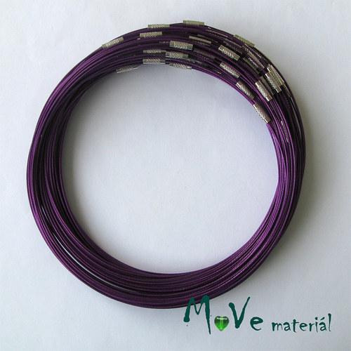 Lanko Ø15cm se zapínáním fialové 1kus