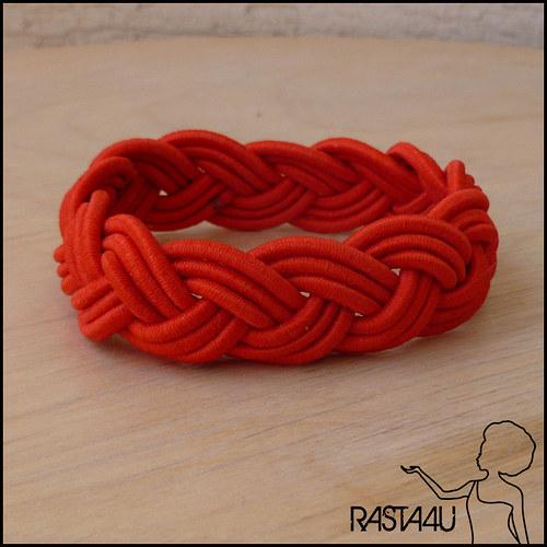 Námořnický náramek - červená