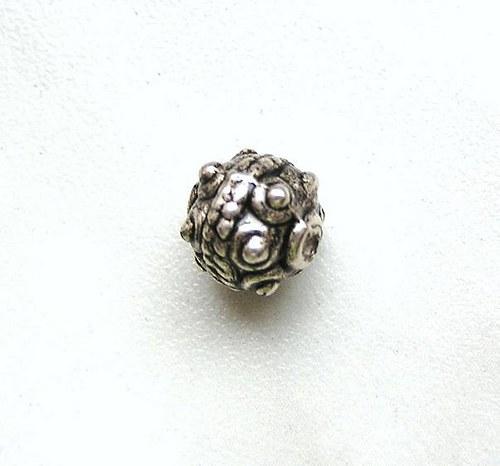 Zdobený korálek - 1 kus