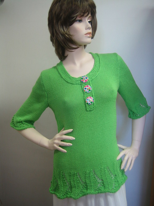 zelená lady