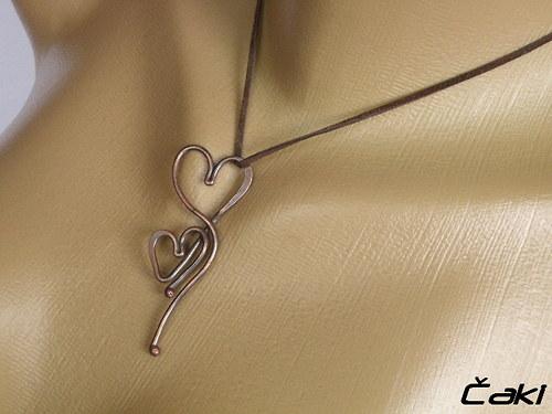 Srdce z lásky k Tobě..............