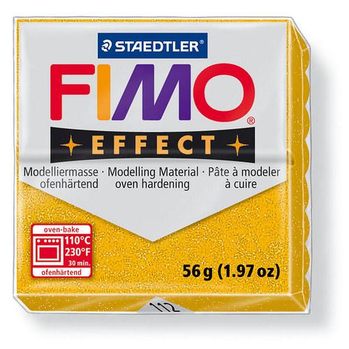 Fimo effect třpytivá zlatá 112