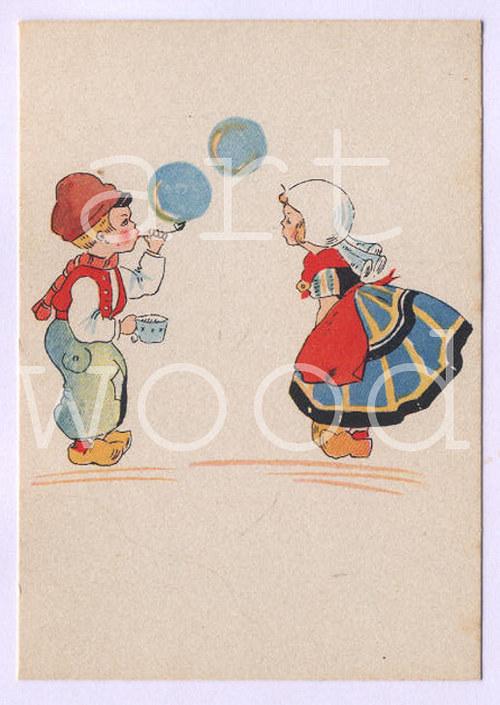BUBLIFUK PO HOLANDSKU - pohlednice č.1089