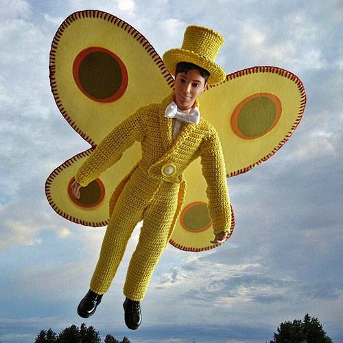Motýlí metamorfózy aneb Zrození motýla Emanuela