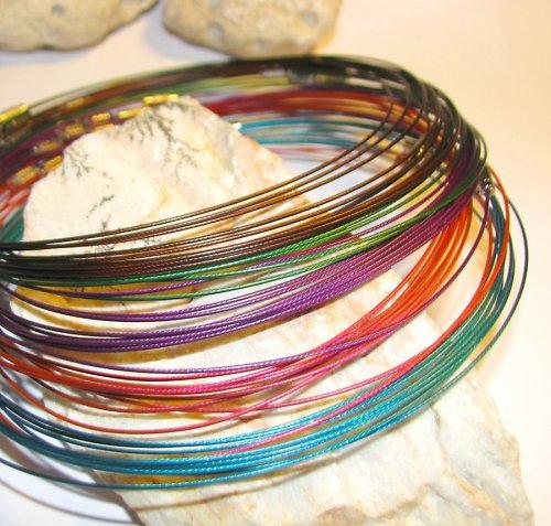 Barevné obruče - různé barvy