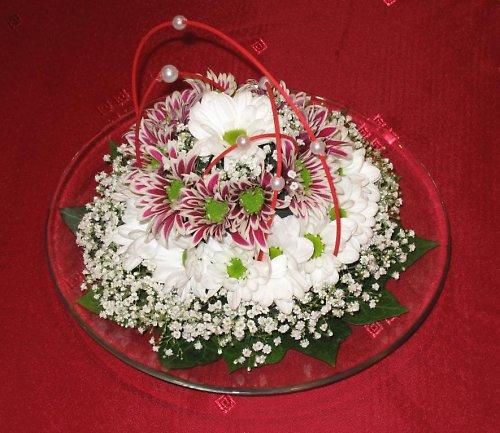 Květinový dort