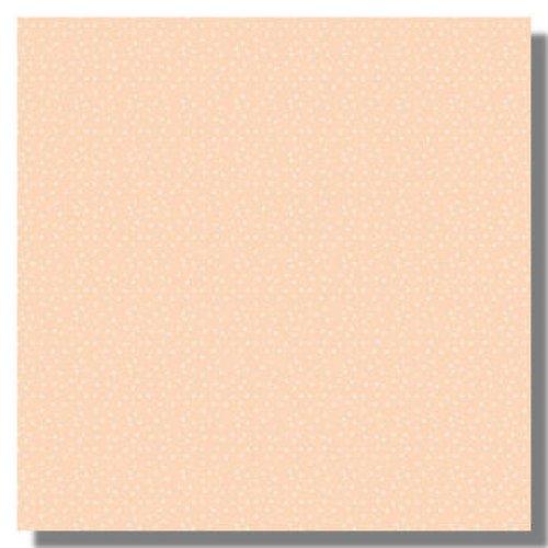 Papír Peach Dots - Patterned Paper