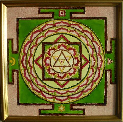 Indická jantra - Šiva-Šakti-jantra