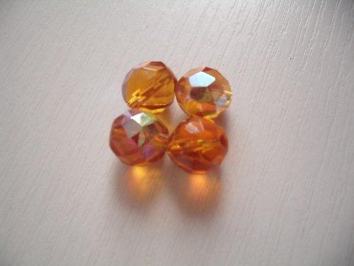 Oranžové lesklé