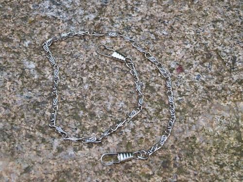 Řetízek ke kabelce, stříbrný krátký