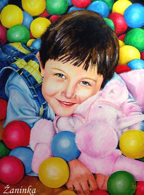 Portrét Valinky