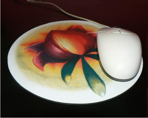 Podložka pod myš - Nebeský květ