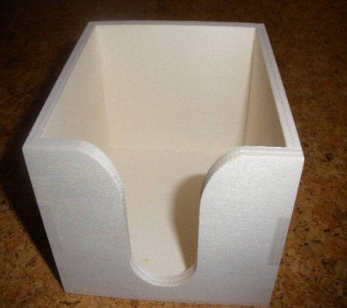 Krabička - zásobník na poznámkový bloček