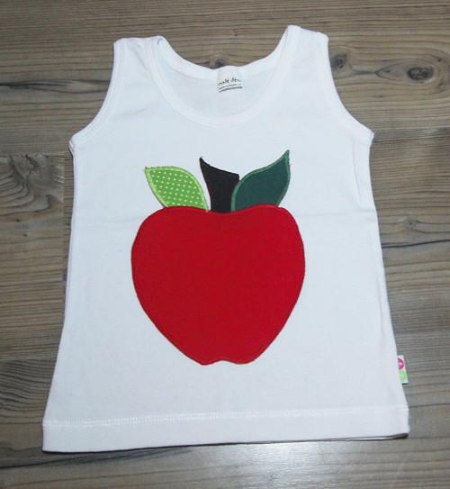 Obrázková nášivka - Jablíčko