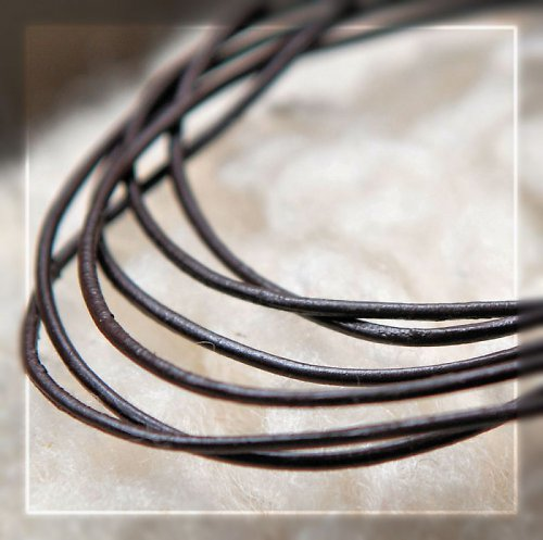 Kožená šňůrka pro zavěšení šperku