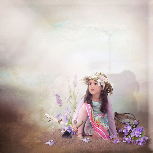 Scrap z vaší fotky-mix kitů Lily a SussieM Designs