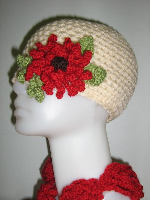 Smetanová čepice