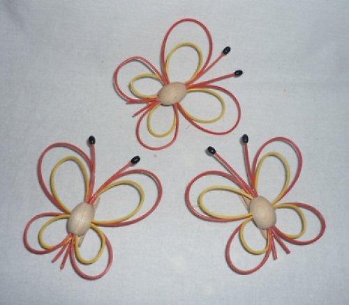 motýlci  3ks- barvy na přání