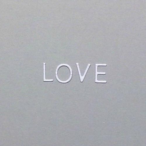 Písmenka - LOVE  - barva dle přání
