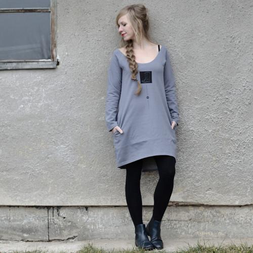 Kodiak Limited XII - šaty s autorským tiskem