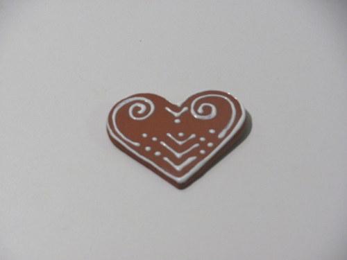 Srdíčko s magnetem